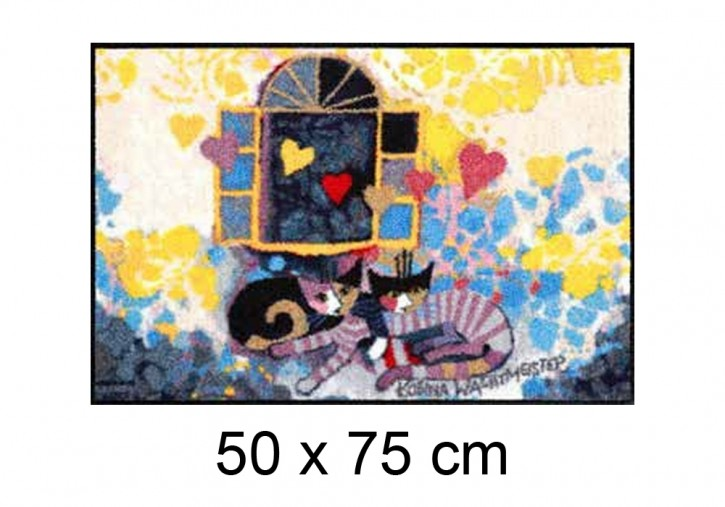 Flying Hearts <br> <br>  by Wachtmeister Lifestyle <br> 50 x 75 cm
