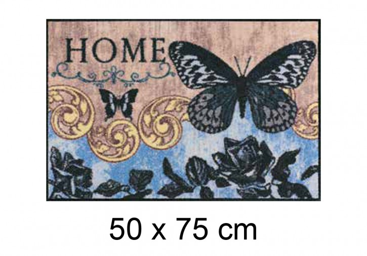 Papillon Bleu <br> Home <br> by Salonlöwe <br> 50 x 75 cm