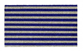 Marine Stripes <br /> CLASSIC KOKOS <br /> by SHOE-MAX  <br /> 74 x 44 cm